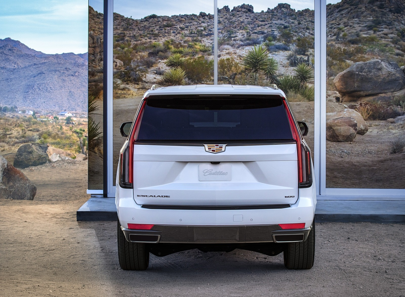 2021 Cadillac Escalade Rear Wallpapers (6)