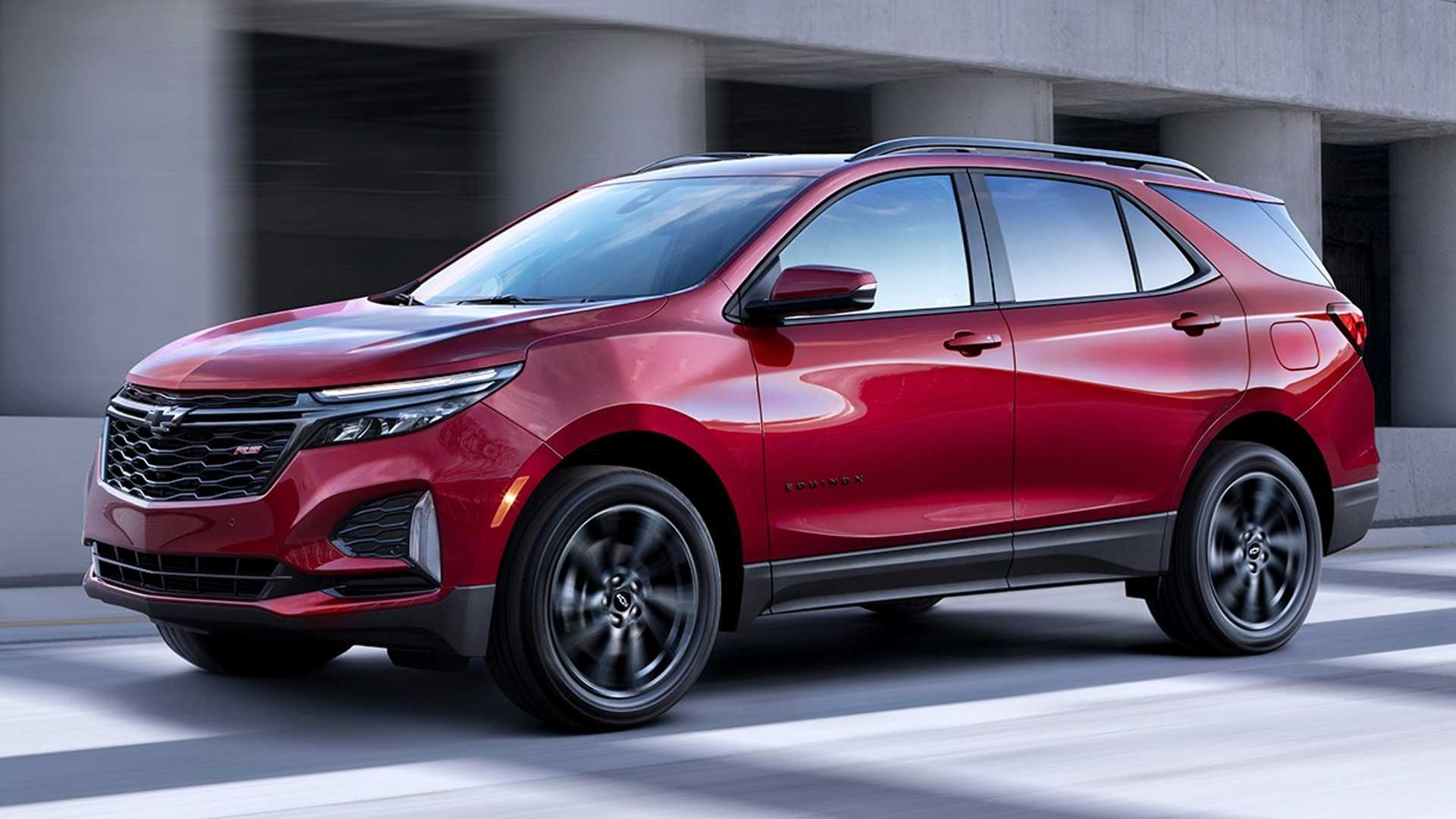 2021 Chevrolet Equinox RS Front Three-Quarter Wallpapers (3)