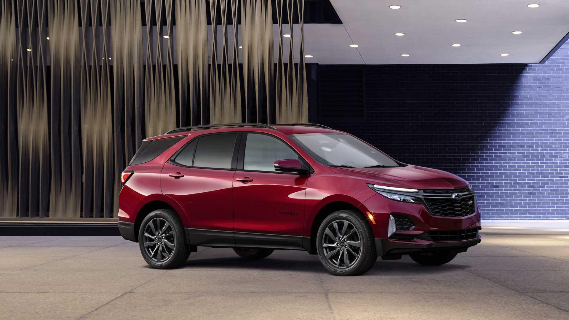 2021 Chevrolet Equinox RS Front Three-Quarter Wallpapers (5)