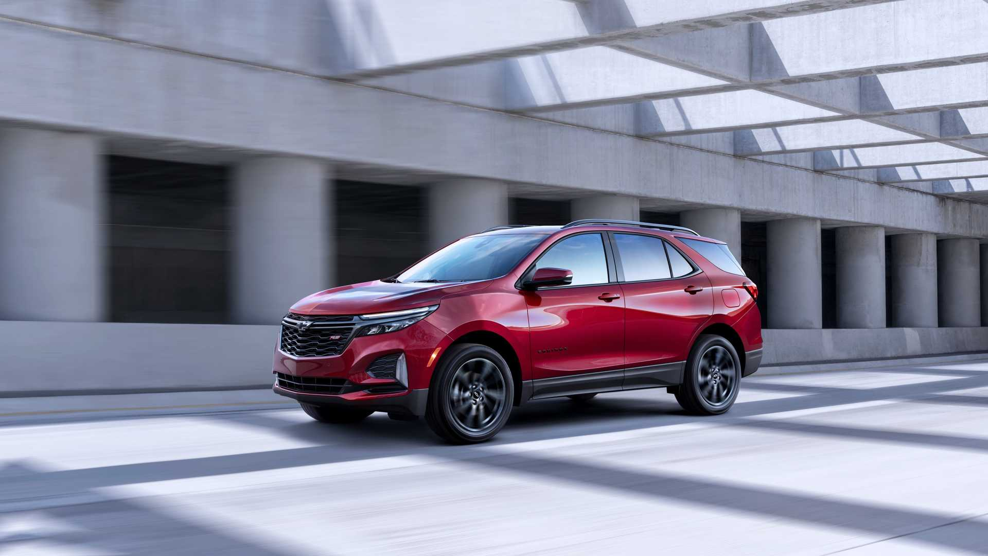2021 Chevrolet Equinox RS Front Three-Quarter Wallpapers (1)