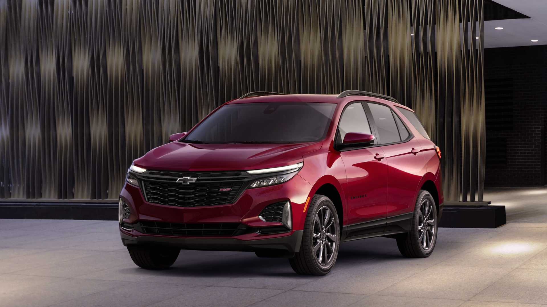 2021 Chevrolet Equinox RS Front Wallpapers (4)