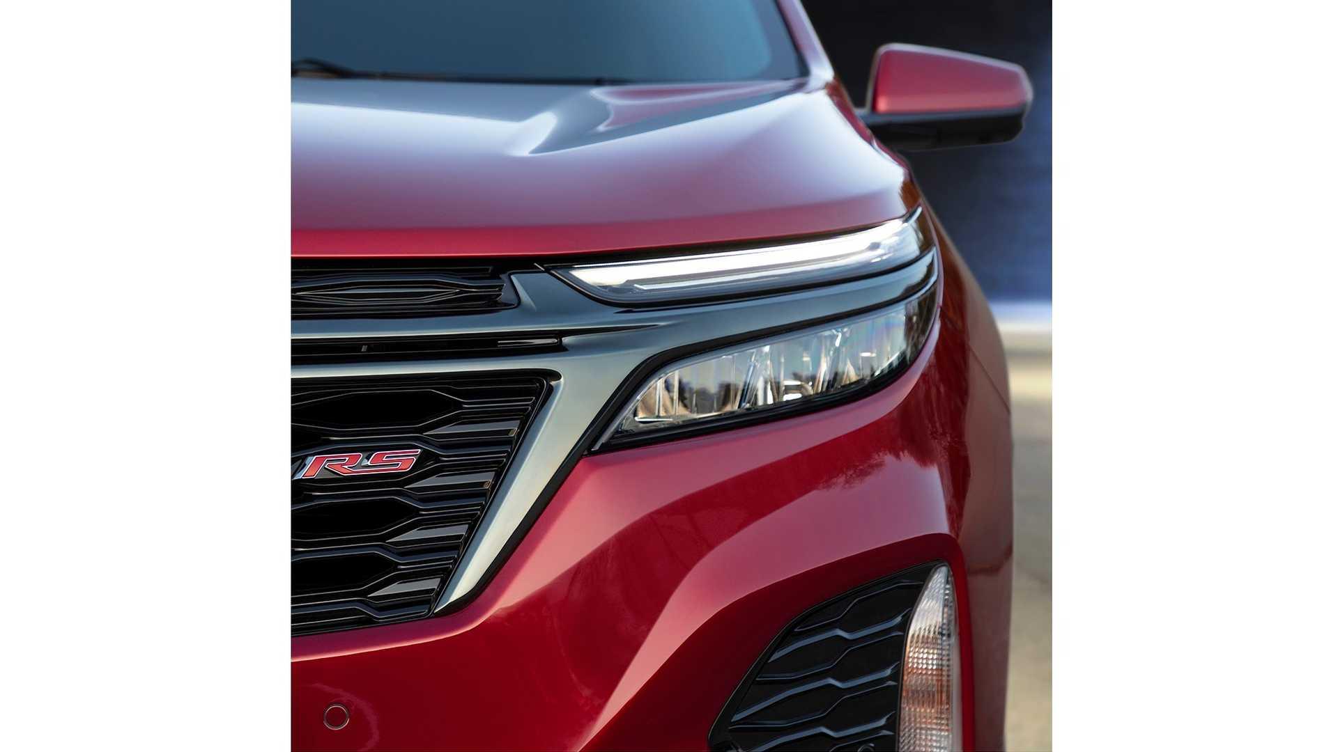2021 Chevrolet Equinox RS Headlight Wallpapers (9)