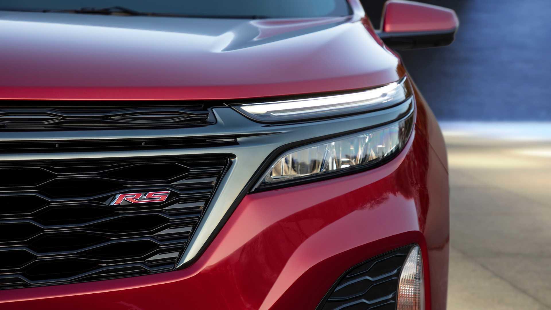 2021 Chevrolet Equinox RS Headlight Wallpapers (10)