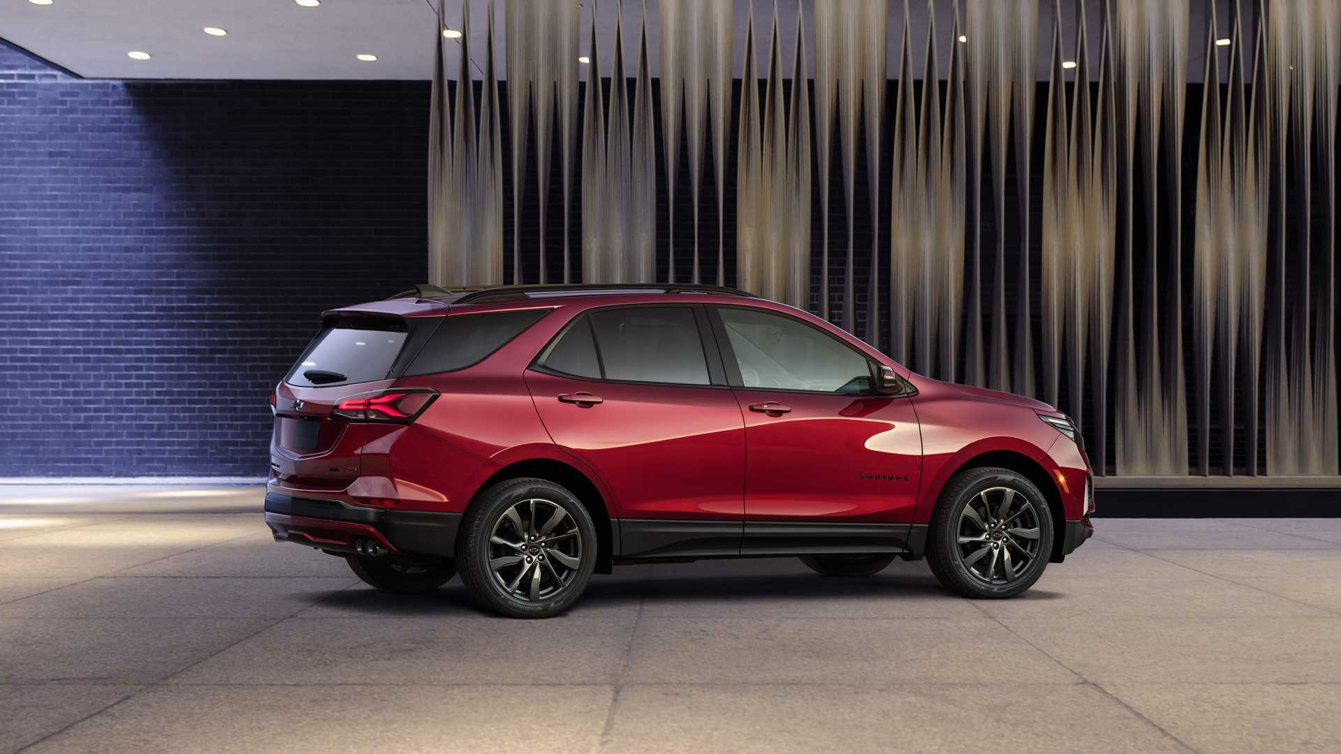 2021 Chevrolet Equinox RS Rear Three-Quarter Wallpapers (6)