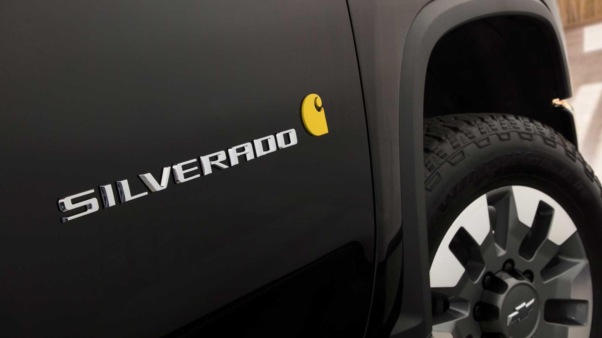 2021 Chevrolet Silverado HD Carhartt Special Edition Detail Wallpapers (7)