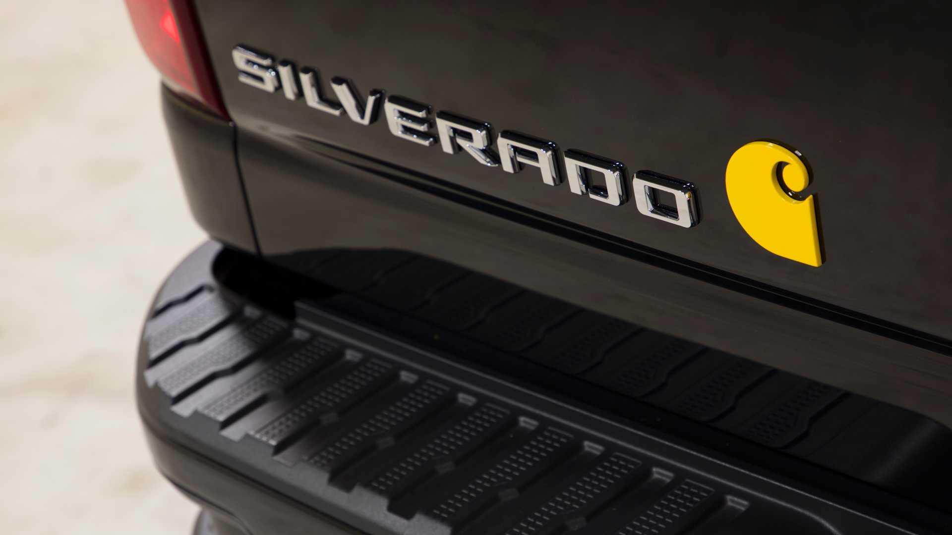 2021 Chevrolet Silverado HD Carhartt Special Edition Detail Wallpapers (6)