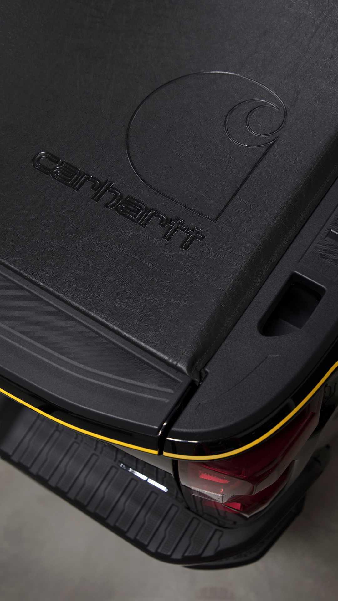 2021 Chevrolet Silverado HD Carhartt Special Edition Detail Wallpapers (5)