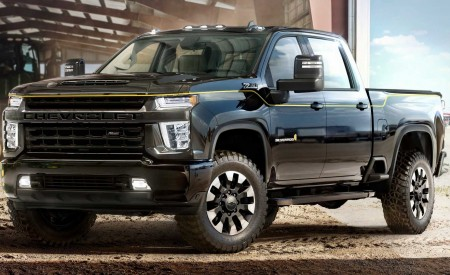 2021 Chevrolet Silverado HD Carhartt Special Edition Wallpapers HD