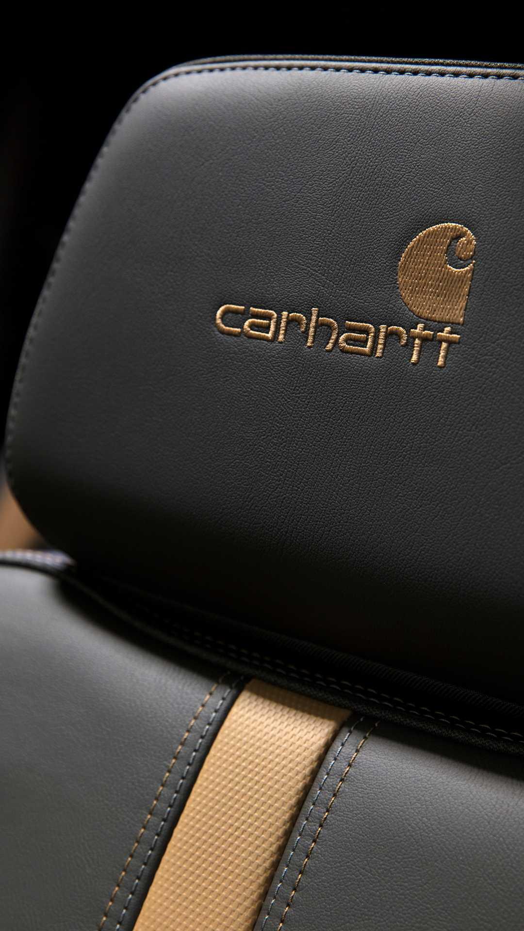 2021 Chevrolet Silverado HD Carhartt Special Edition Interior Seats Wallpapers (8)