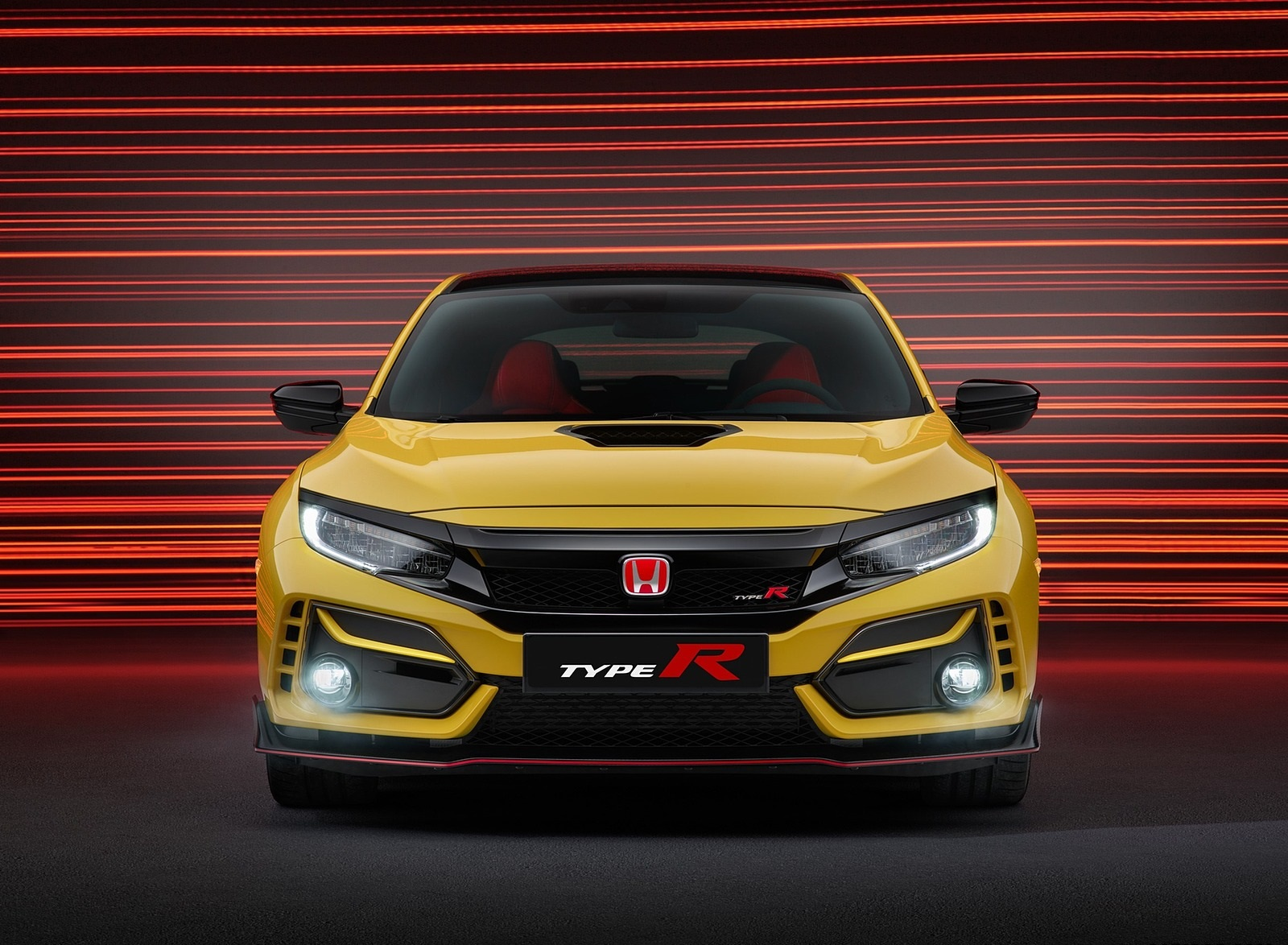 2021 Honda Civic Type R Limited Edition Front Wallpapers (2)