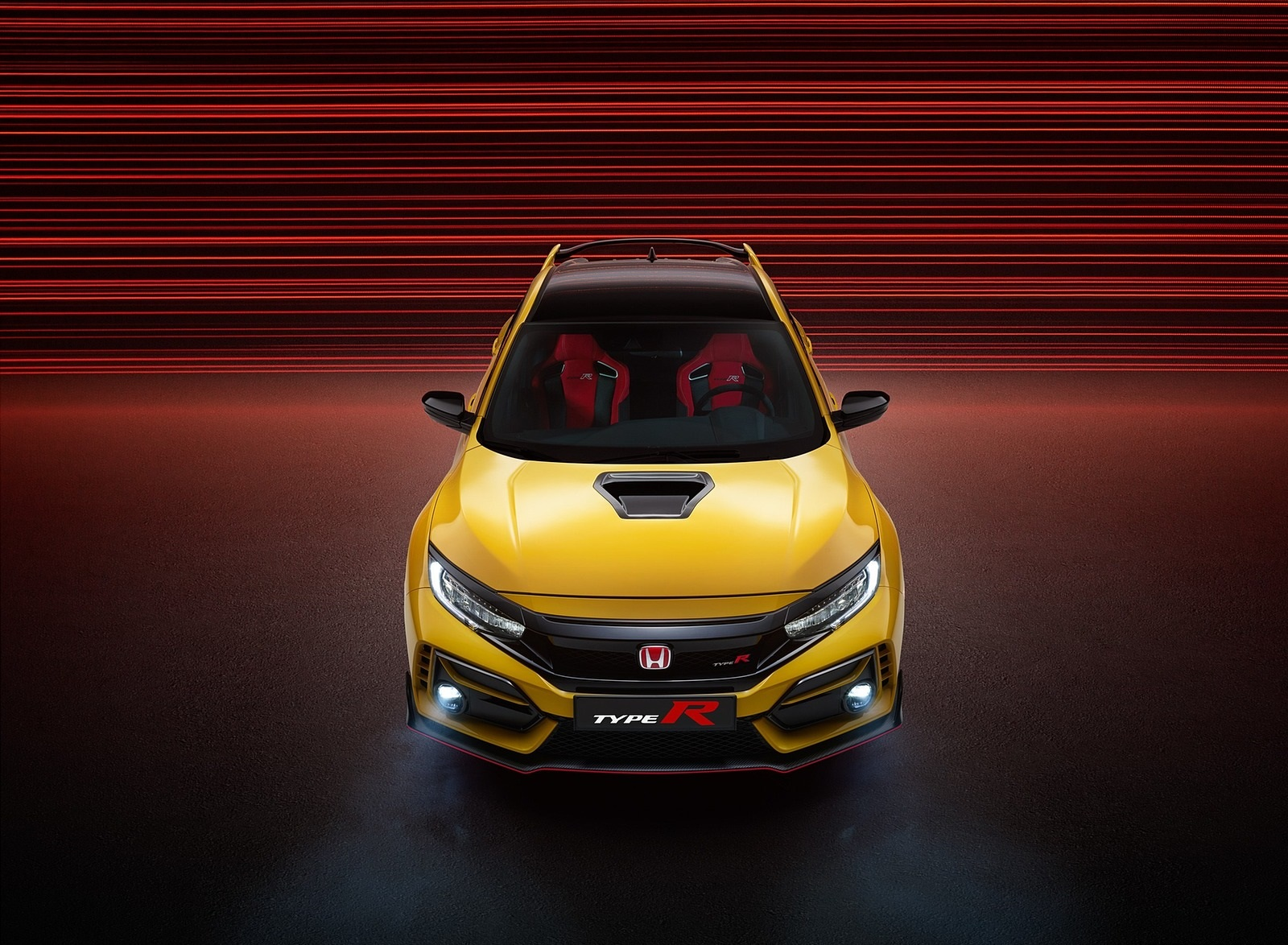 2021 Honda Civic Type R Limited Edition Front Wallpapers (3)