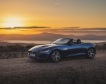 2021 Jaguar F-TYPE P300 Convertible RWD (Color: Bluefire) Front Three-Quarter Wallpapers 150x120 (11)