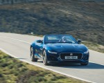 2021 Jaguar F-TYPE P300 Convertible RWD (Color: Bluefire) Front Three-Quarter Wallpapers 150x120 (3)
