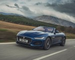 2021 Jaguar F-TYPE P300 Convertible RWD (Color: Bluefire) Front Three-Quarter Wallpapers 150x120 (1)