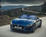 2021 Jaguar F-TYPE P300 Convertible RWD (Color: Bluefire) Front Three-Quarter Wallpapers 150x120 (5)
