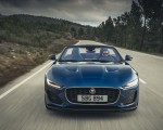 2021 Jaguar F-TYPE P300 Convertible RWD (Color: Bluefire) Front Wallpapers 150x120 (7)
