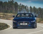 2021 Jaguar F-TYPE P300 Convertible RWD (Color: Bluefire) Front Wallpapers 150x120 (6)