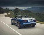2021 Jaguar F-TYPE P300 Convertible RWD (Color: Bluefire) Rear Three-Quarter Wallpapers 150x120 (8)