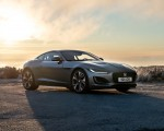 2021 Jaguar F-TYPE P300 Coupe RWD (Color: Eiger Grey) Front Three-Quarter Wallpapers 150x120 (12)