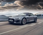 2021 Jaguar F-TYPE P300 Coupe RWD (Color: Eiger Grey) Front Three-Quarter Wallpapers 150x120 (3)