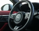 2021 Jaguar F-TYPE P300 Coupe RWD (Color: Eiger Grey) Interior Steering Wheel Wallpapers 150x120 (21)