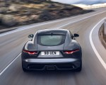 2021 Jaguar F-TYPE P300 Coupe RWD (Color: Eiger Grey) Rear Wallpapers 150x120 (9)