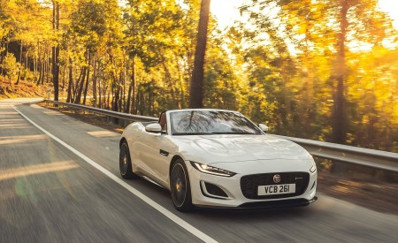 2021 Jaguar F-TYPE P450 Convertible Wallpapers HD