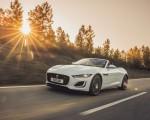 2021 Jaguar F-TYPE R-Dynamic P450 Convertible RWD (Color: Fuji White) Front Three-Quarter Wallpapers 150x120 (10)
