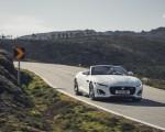 2021 Jaguar F-TYPE R-Dynamic P450 Convertible RWD (Color: Fuji White) Front Three-Quarter Wallpapers 150x120 (11)