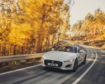2021 Jaguar F-TYPE R-Dynamic P450 Convertible RWD (Color: Fuji White) Front Wallpapers 150x120 (12)