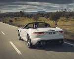 2021 Jaguar F-TYPE R-Dynamic P450 Convertible RWD (Color: Fuji White) Rear Three-Quarter Wallpapers 150x120 (15)