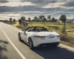 2021 Jaguar F-TYPE R-Dynamic P450 Convertible RWD (Color: Fuji White) Rear Three-Quarter Wallpapers 150x120 (14)