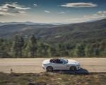2021 Jaguar F-TYPE R-Dynamic P450 Convertible RWD (Color: Fuji White) Side Wallpapers 150x120 (16)