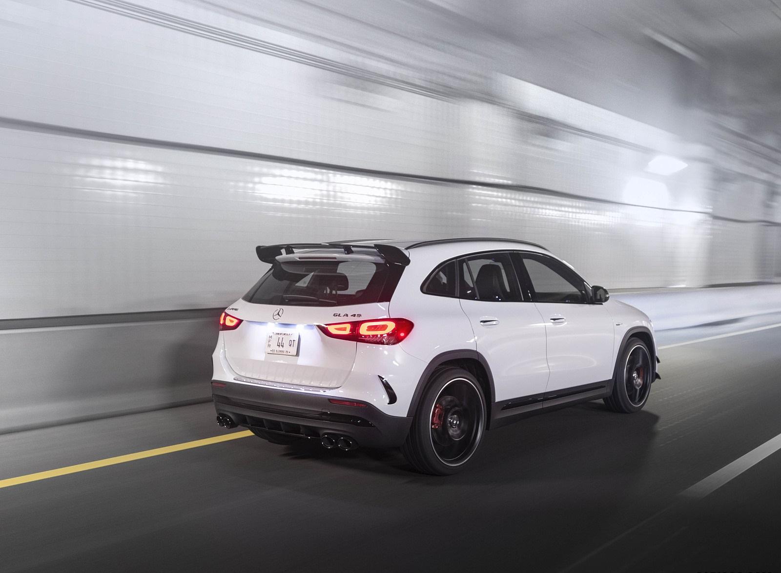 2021 Mercedes-AMG GLA 45 Rear Three-Quarter Wallpapers  (8)