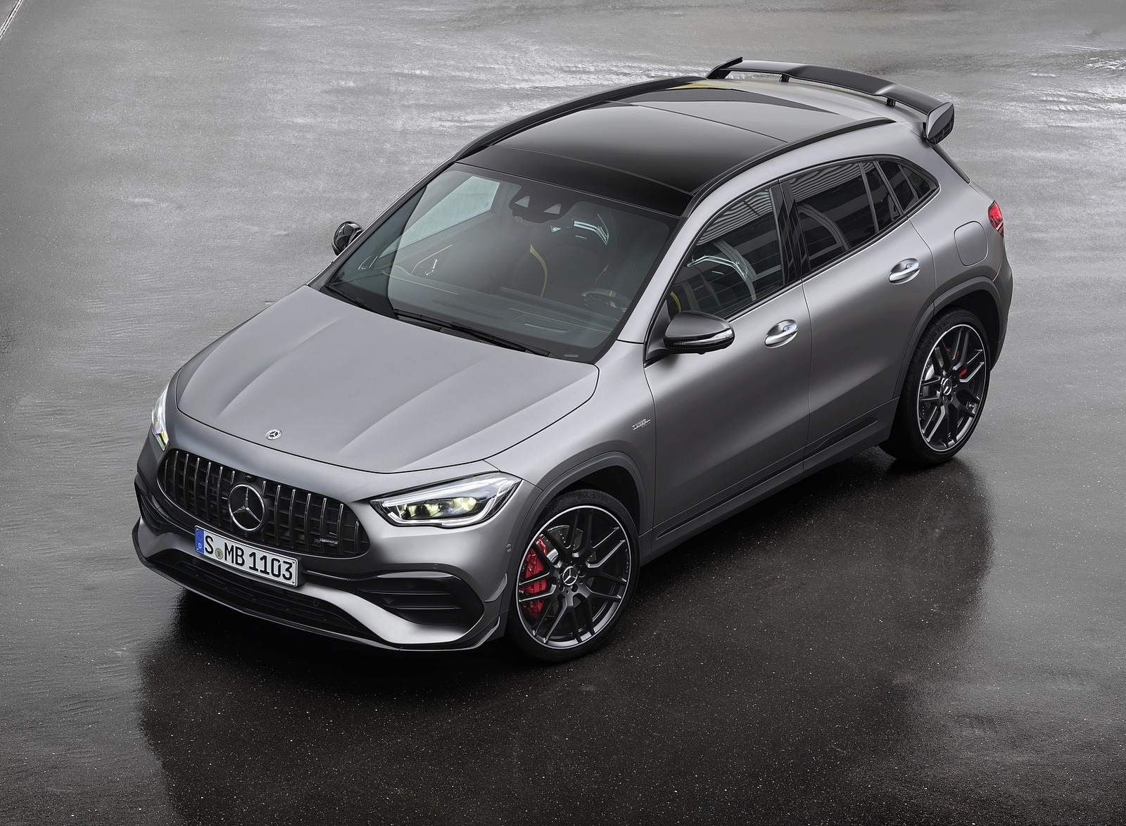 2021 Mercedes-AMG GLA 45 S 4MATIC+ (Color: Magno Grey) Top Wallpapers (5)