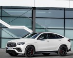 2021 Mercedes-AMG GLE 63 S 4MATIC+ Coupe (Color: Diamond White) Front Three-Quarter Wallpapers 150x120 (11)