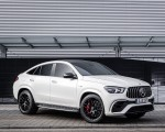 2021 Mercedes-AMG GLE 63 S 4MATIC+ Coupe (Color: Diamond White) Front Three-Quarter Wallpapers 150x120 (10)