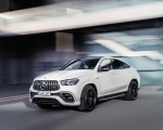 2021 Mercedes-AMG GLE 63 S 4MATIC+ Coupe (Color: Diamond White) Front Three-Quarter Wallpapers 150x120 (1)