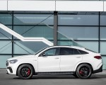 2021 Mercedes-AMG GLE 63 S 4MATIC+ Coupe (Color: Diamond White) Side Wallpapers 150x120 (16)