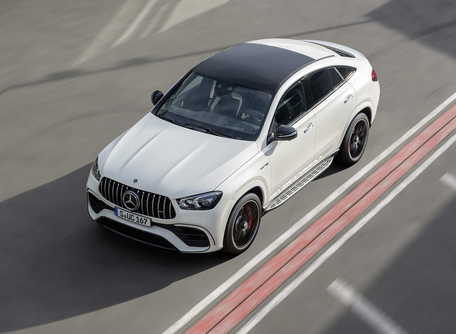 2021 Mercedes-AMG GLE 63 S 4MATIC+ Coupe (Color: Diamond White) Top Wallpapers (8)