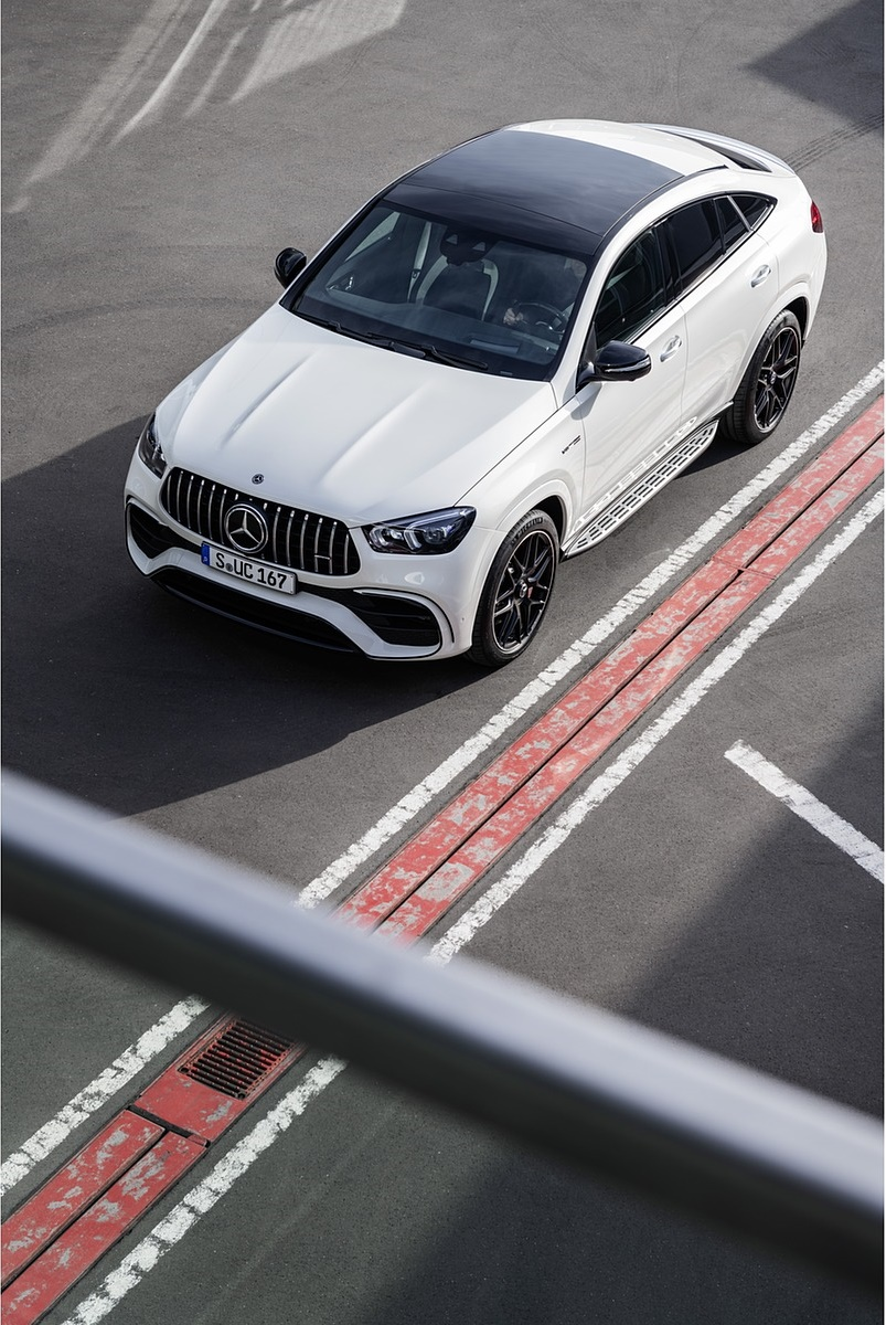 2021 Mercedes-AMG GLE 63 S 4MATIC+ Coupe (Color: Diamond White) Top Wallpapers (7)