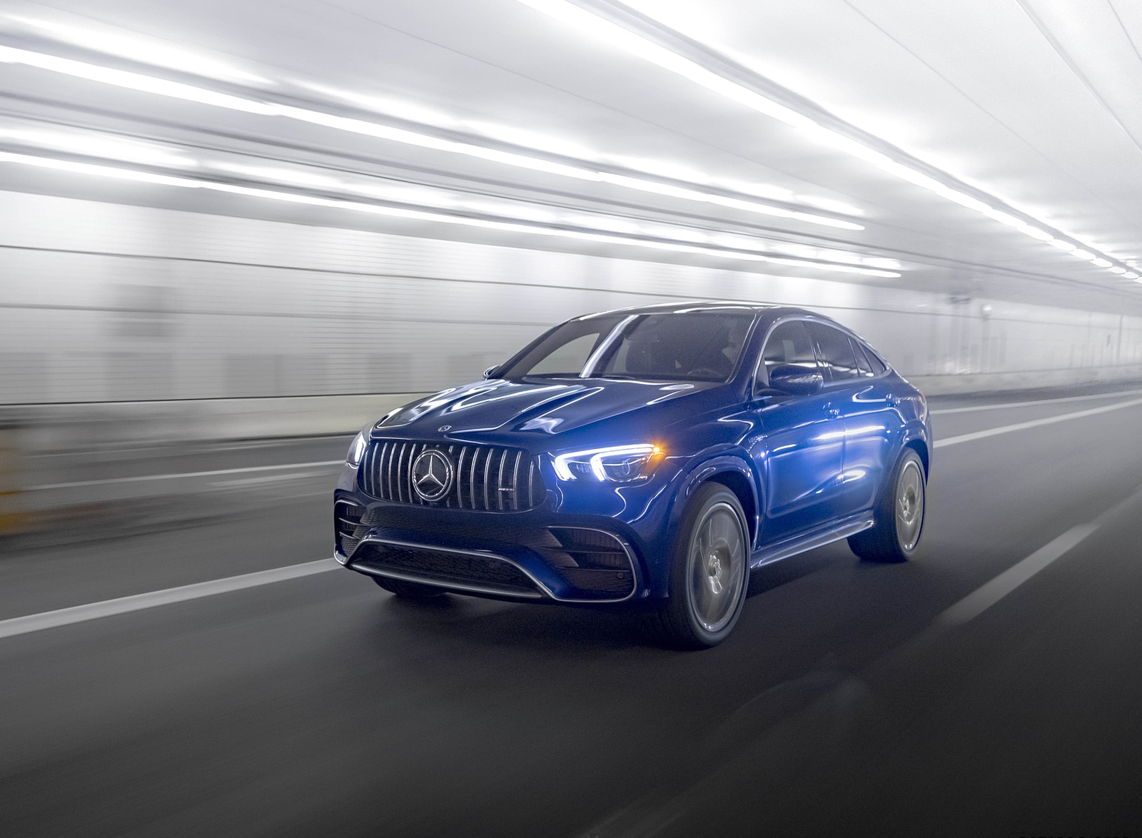 2021 Mercedes-AMG GLE 63 S Coupe (US-Spec) Front Three-Quarter Wallpapers (2)