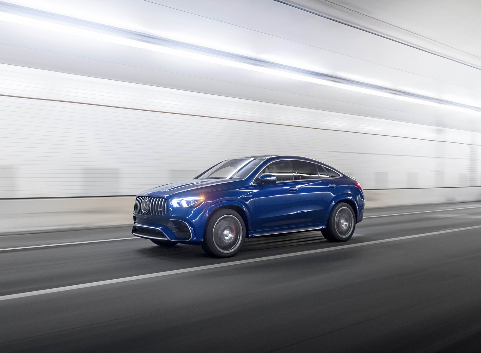 2021 Mercedes-AMG GLE 63 S Coupe (US-Spec) Front Three-Quarter Wallpapers  (4)