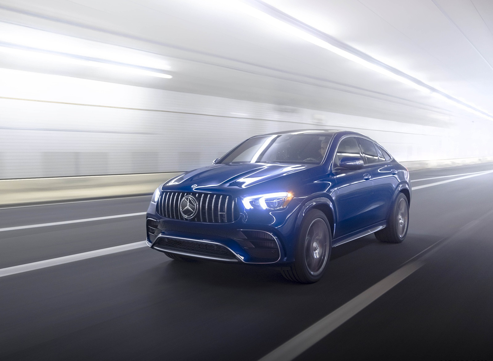 2021 Mercedes-AMG GLE 63 S Coupe (US-Spec) Front Three-Quarter Wallpapers (1)