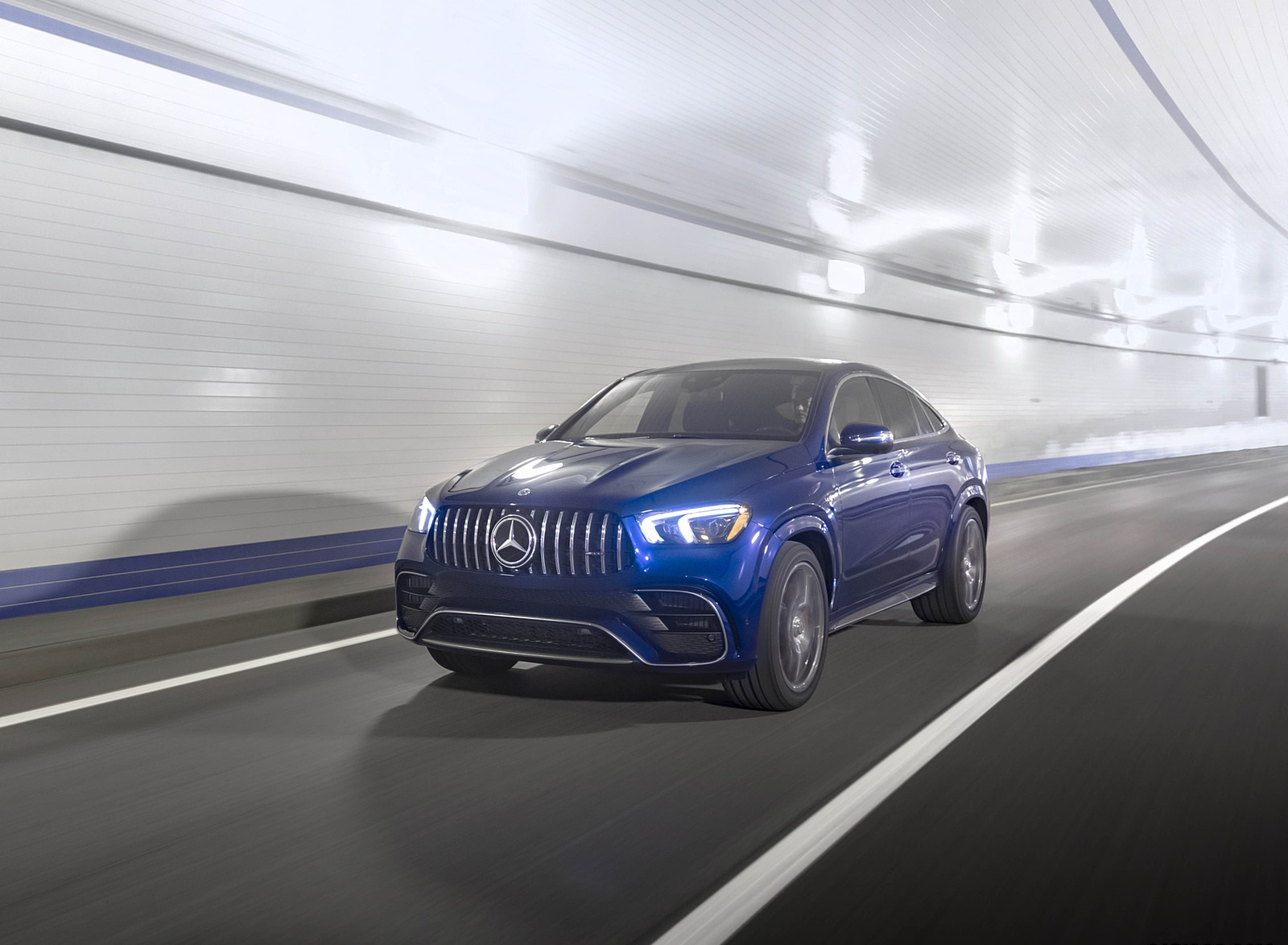 2021 Mercedes-AMG GLE 63 S Coupe (US-Spec) Front Three-Quarter Wallpapers  (5)