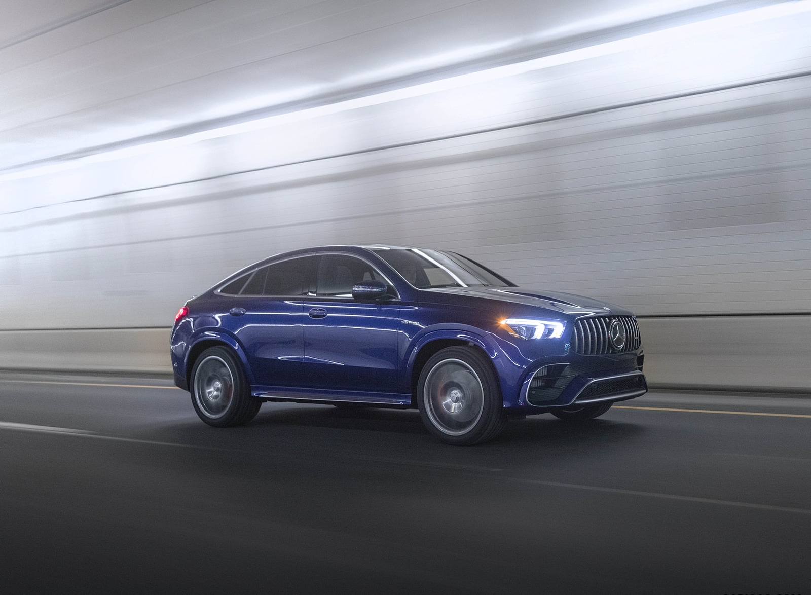 2021 Mercedes-AMG GLE 63 S Coupe (US-Spec) Front Three-Quarter Wallpapers (6)