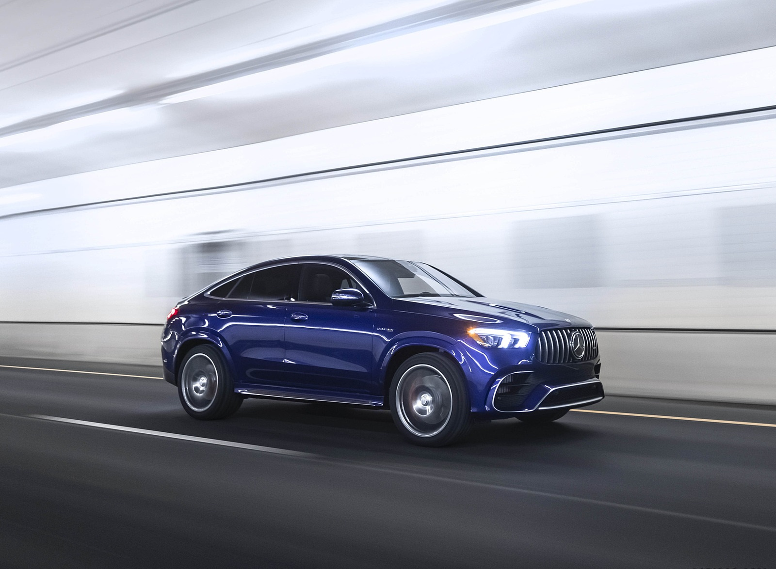 2021 Mercedes-AMG GLE 63 S Coupe (US-Spec) Front Three-Quarter Wallpapers (7)