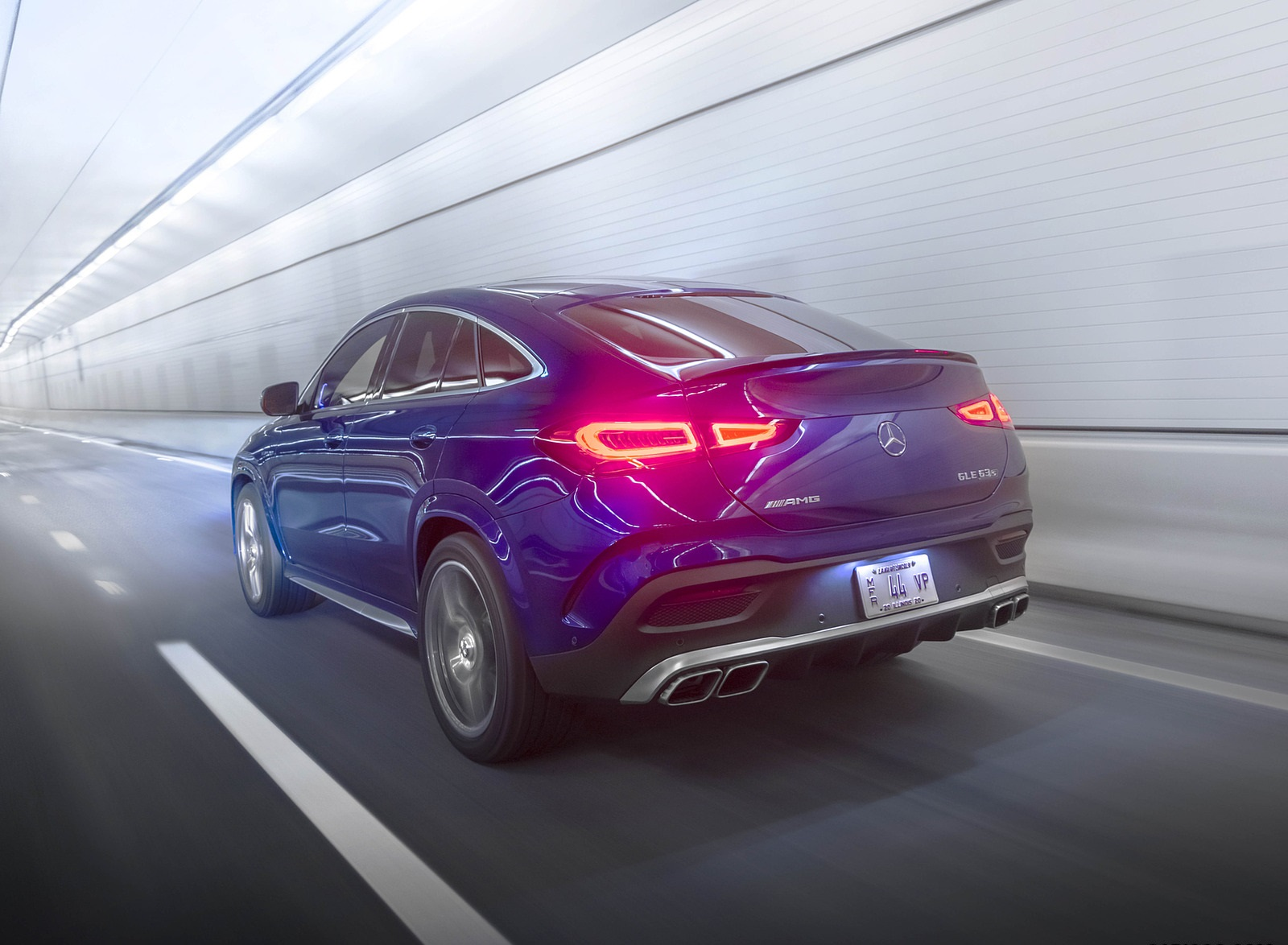 2021 Mercedes-AMG GLE 63 S Coupe (US-Spec) Rear Three-Quarter Wallpapers  (8)