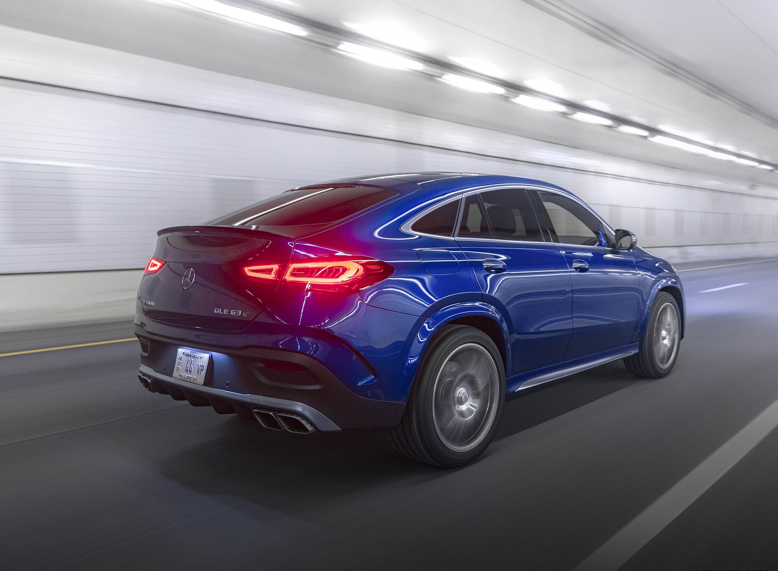 2021 Mercedes-AMG GLE 63 S Coupe (US-Spec) Rear Three-Quarter Wallpapers (9)