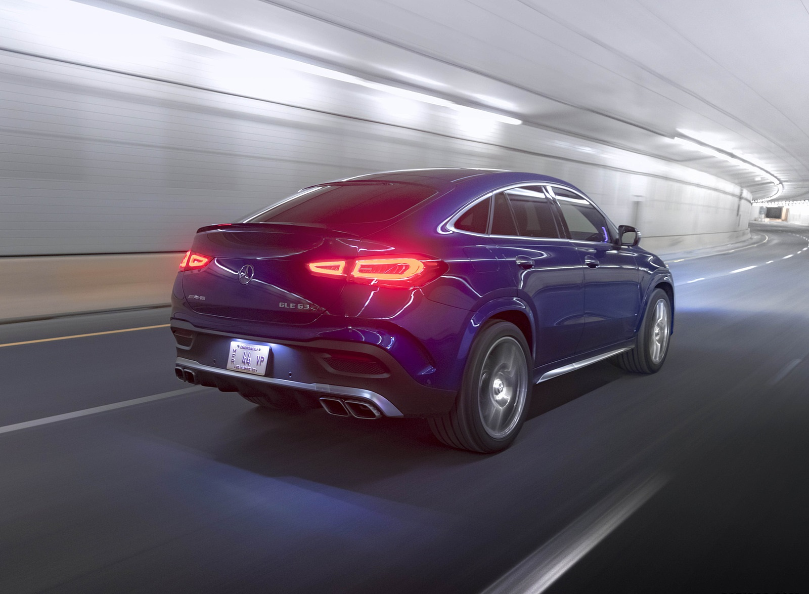 2021 Mercedes-AMG GLE 63 S Coupe (US-Spec) Rear Three-Quarter Wallpapers (10)
